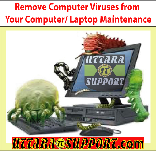 remove computer viruses from your computer or laptop maintenance, computer virus, computer viruses, remove computer virus, remove computer viruses, remove computer viruses from your computer, remove computer viruses from your laptop, remove laptop virus, remove laptop viruses, adware, spyware, trojan horse, protect from computer virus, protect your computer from computer virus, computer virus solution