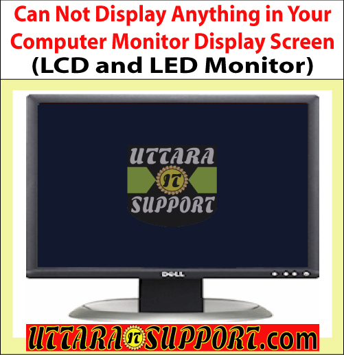 can not display anything in your computer monitor display screen, display, can not display anything, computer, computer monitor, computer monitor display, computer display screen