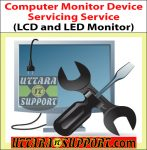 Computer Monitor Device Servicing Service (LCD and LED Monitor)