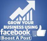 Facebook Post Boosting Service